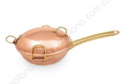Copper Handcrafted Hammered Cataplana/WOK