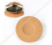 Round Cork Base for Cataplana