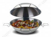 "Stainless Steel Cataplana ""Algarve"" - Thermic Flat Bottom"