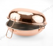 Traditional Copper Handcrafted Hammered Cataplana
